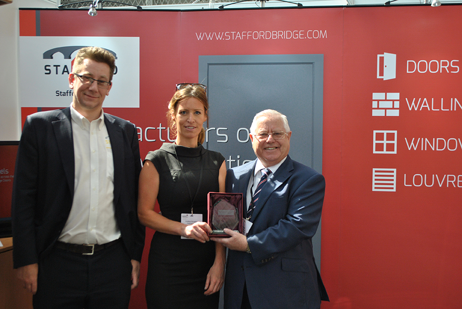 stafford bridge receives security door access control specialist of the year award at ctx 2015